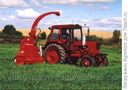 Полесье 1500 (косилка) и трактор