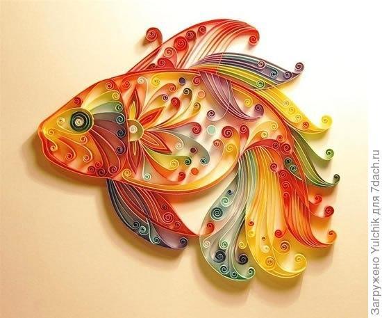 Золотая рыбка на удачу