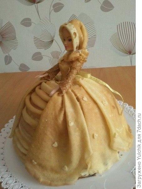 Тортик из блинов
