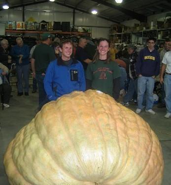 Самый большой овощ в мире