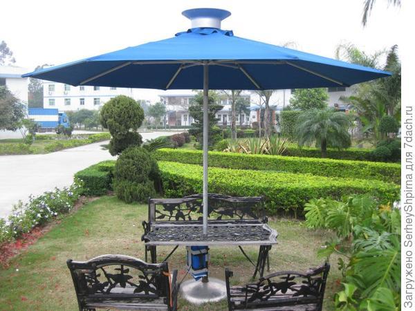 Зонтик Solar garden parasol