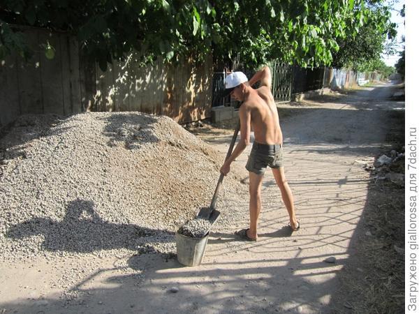 Замешиваем бетон