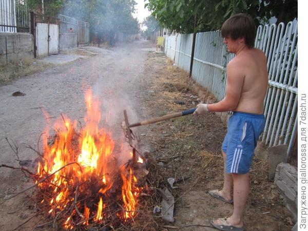 Разжигаем активнее огонь
