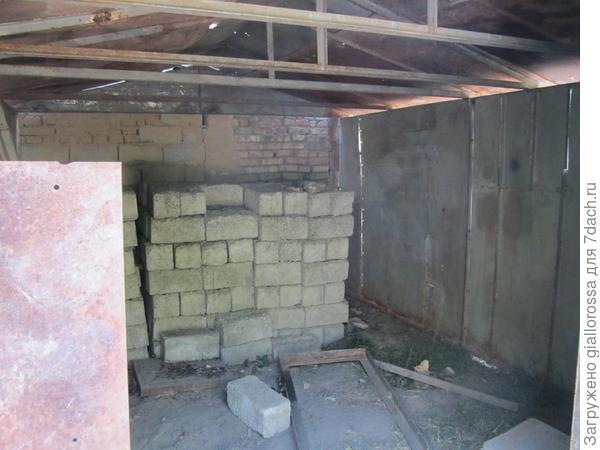 результат установки стен и крыши