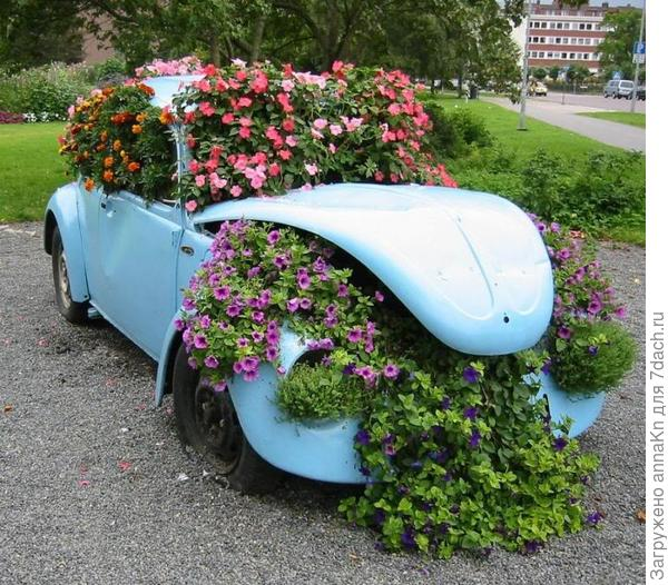 Клумба - авто