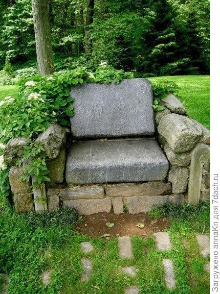 Каменное кресло