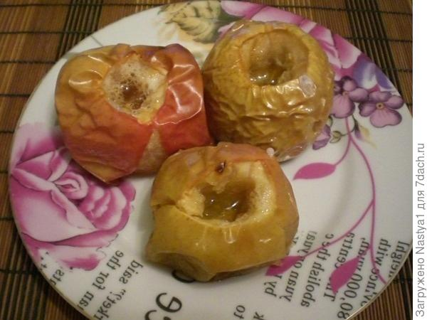 Яблочки с медом