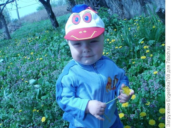 Алёшка и дача))))