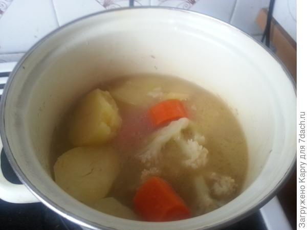 Крем-суп Витаминка