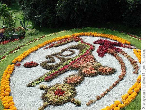 Цветник 3