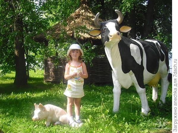 Доченька и животные