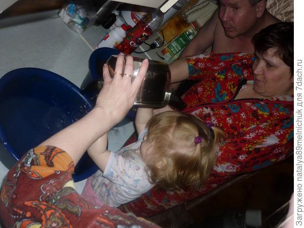 Как у бабушки в деревне отдыхали всей семьей ....