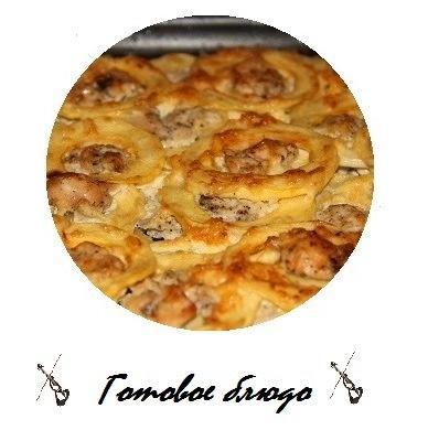 Кабачковое наслаждение ... а на десерт попробуйте творожные яблочные кексики