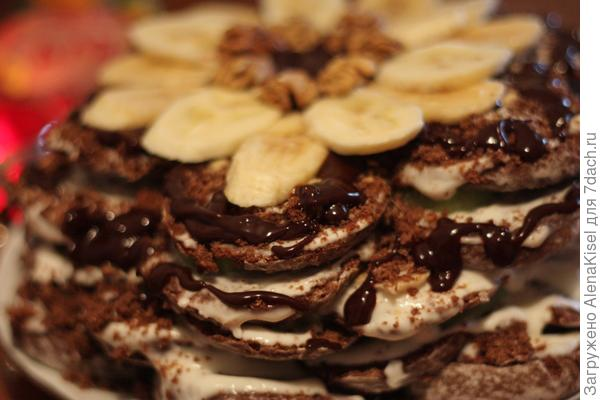 украшаем тортик по вкусу