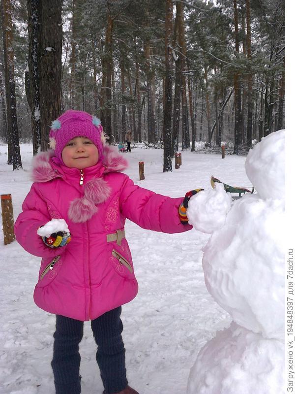 Наш снеговичёк