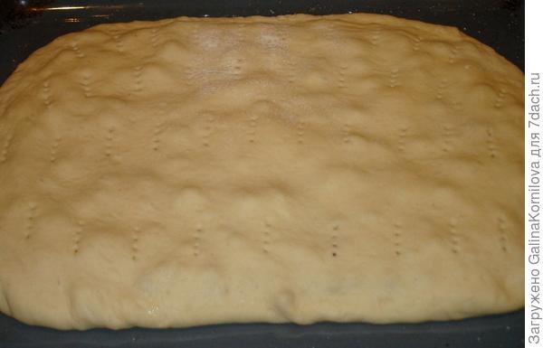 Пирог с калиной.