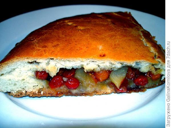Пирог из калины пошагово 39