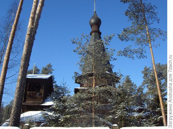 Церковь Казанской иконы Божией Матери в Вырице