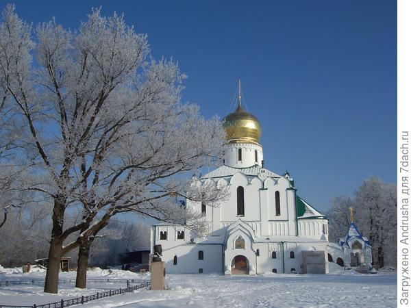 Собор Феодоровской иконы Божией Матери в Пушкине