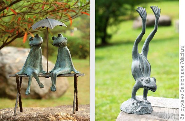 Лягушки из бронзы. Фото с сайта museum-design.ru