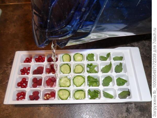 подготовка косметического льда