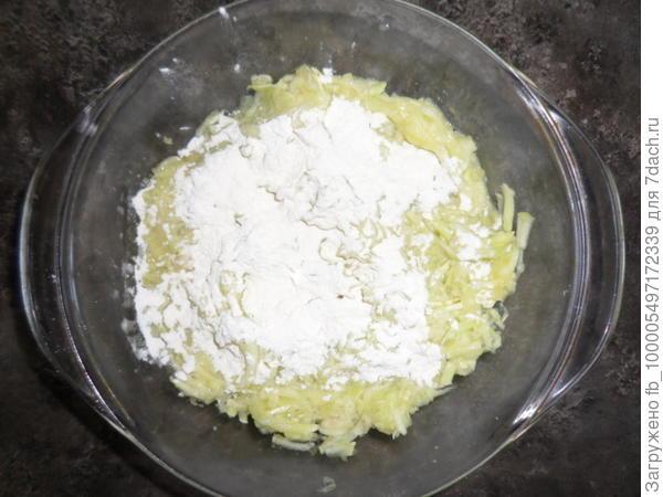 тесто на оладьи из кабачков