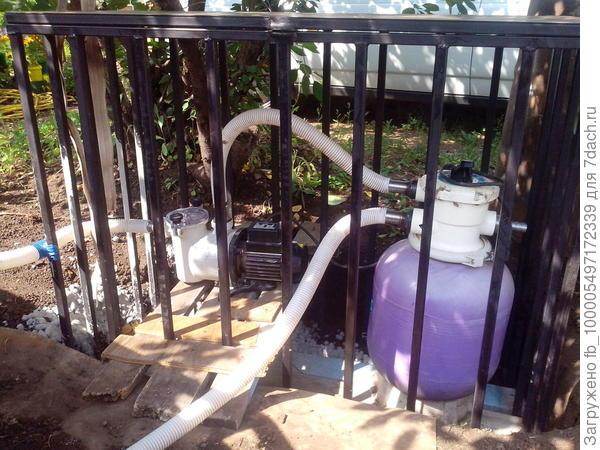 система очистки бассейна
