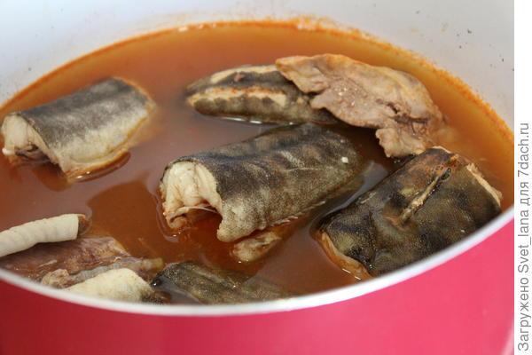 Уха по-сегедски - пошаговый рецепт приготовления с фото
