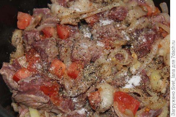 Токань с перцем и белым вином - пошаговый рецепт приготовления с фото