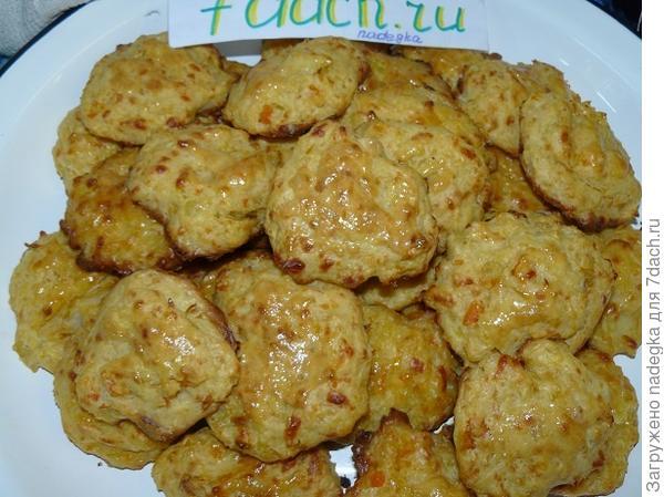 Овощное печенье с сыром Вкусное