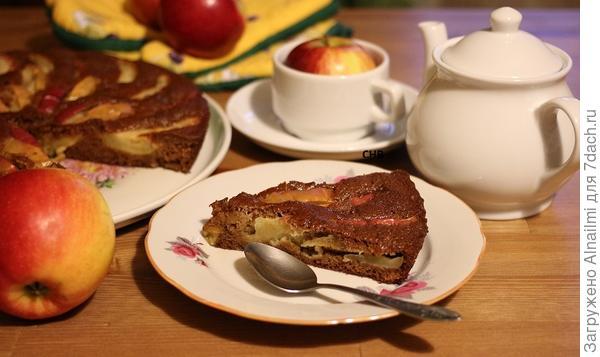 Пирог с яблоками Дары Осени.