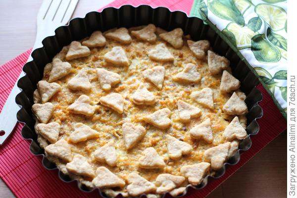 Пирог из печи