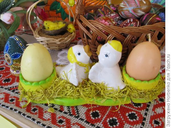 Свечи-яйца