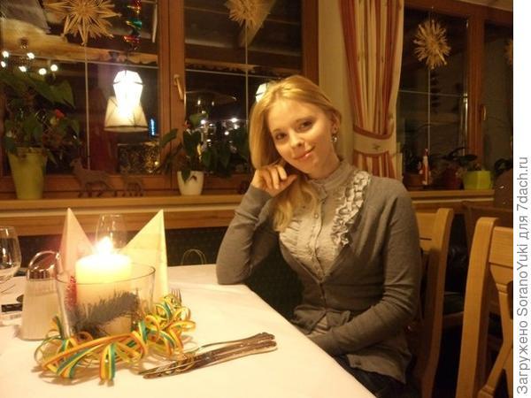 в ресторане Новогодняя Ночь
