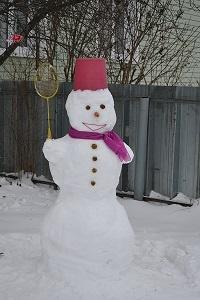 какая зима без снеговика