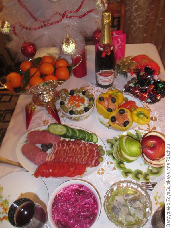 Праздничный стол 2014 г.