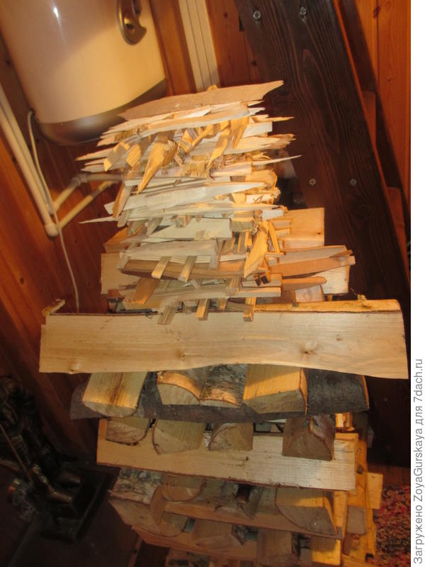 Березовые дрова лучше разгораются и дают равномерный и стабильный жар.