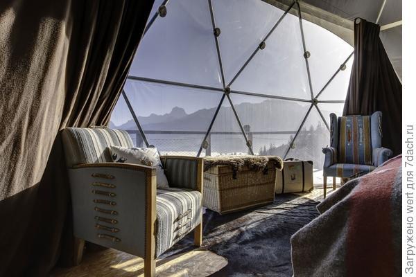 Дача в стиле гео-купол