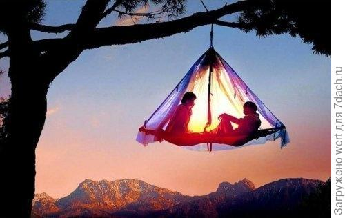 Волшебство на даче пикник