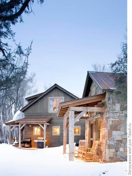 Дом на севере США