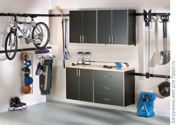 Хранение на даче: велосипед
