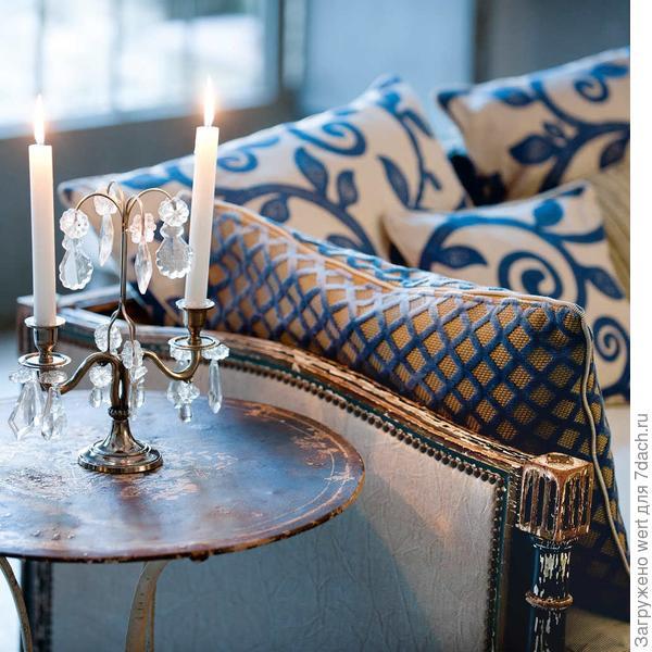 Дачный интерьер: подбираем текстиль (французский прованс)