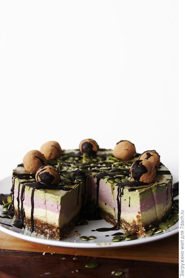 Сыроедный торт: сладкая диета