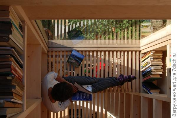 Эко-дизайн, экологичная мебель, библиотека, дизайн интерьера и декор