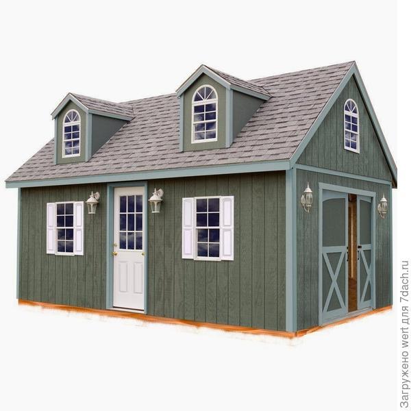 4 способа добавить даче квадратные метры