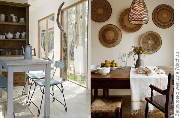 8 идей для дачной столовой