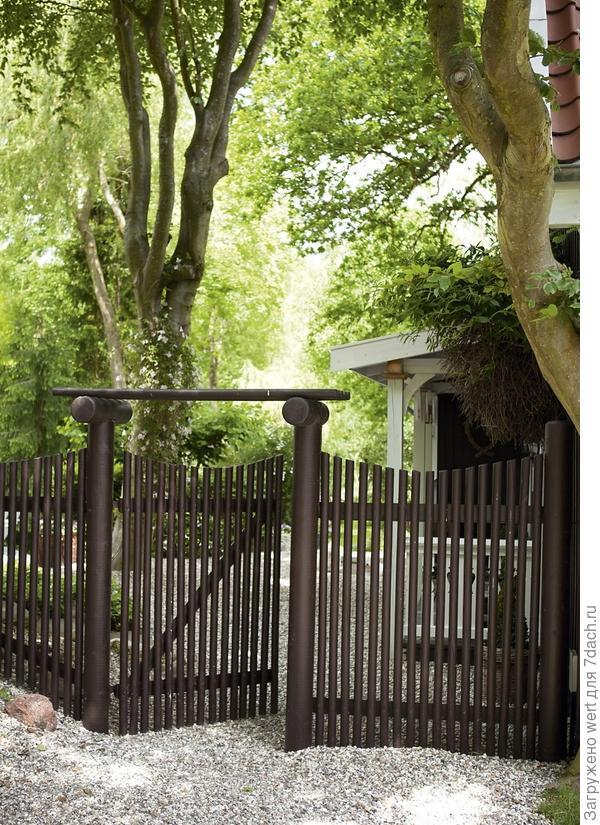 Забор, калитка
