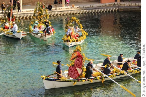 Флористический фестиваль в Ницце