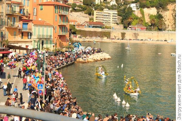 Фестиваль мимозы в Ницце