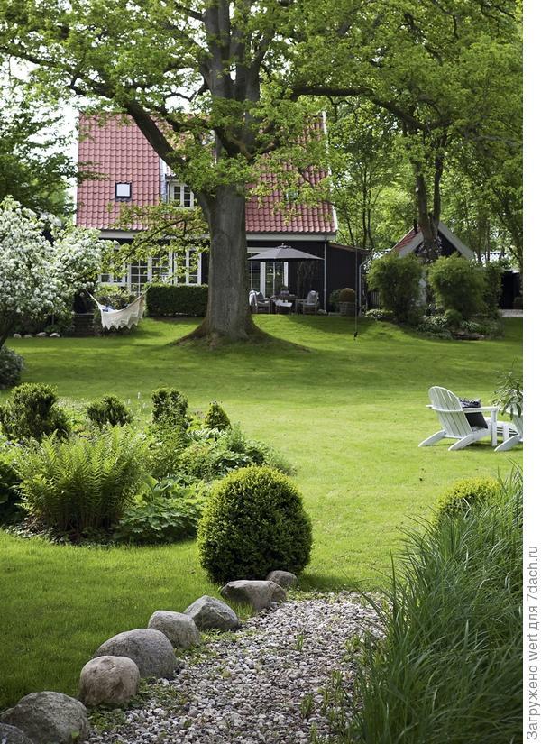 Дом в скандинавском стиле, экстерьер